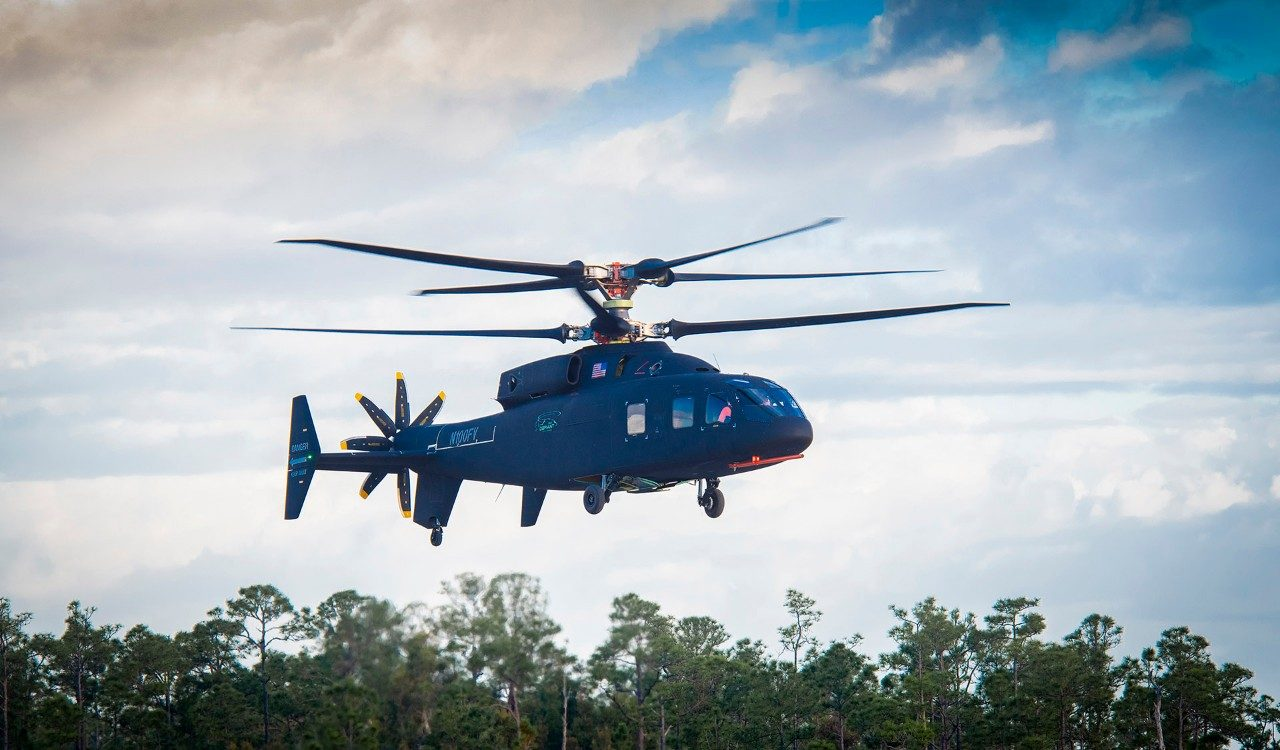 SB>1 Defiant Helicopter Completes First Flight