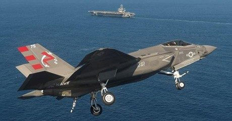 Air defense: F-35C Lightning II